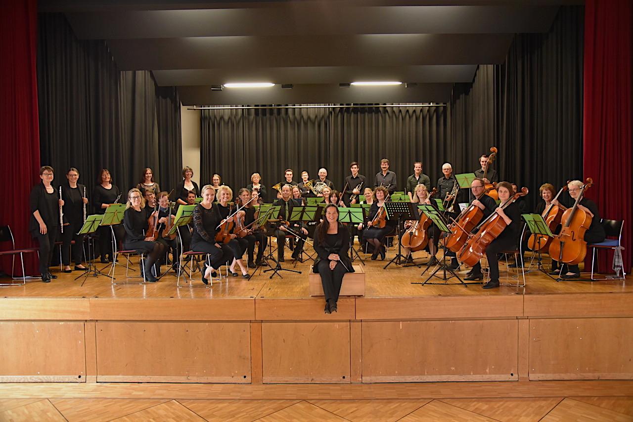 Das neue Orchester Rüti spielt im Löwensaal