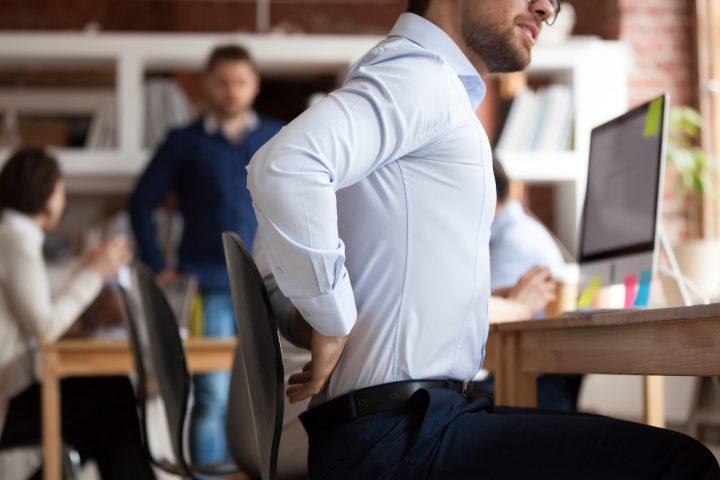 Bei Rückenschmerzen ist aktive Mitarbeit des Patienten erwünscht