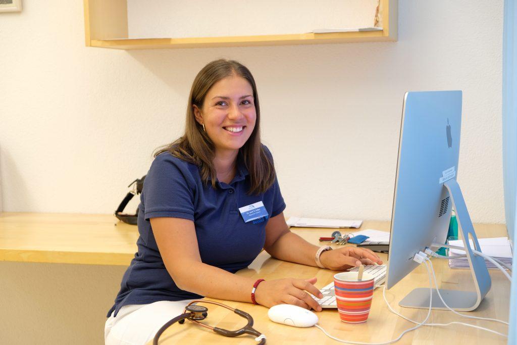 Salome Zeller ist ab Herbst 2019 fest im Ärzteteam der Praxis am Bahnhof
